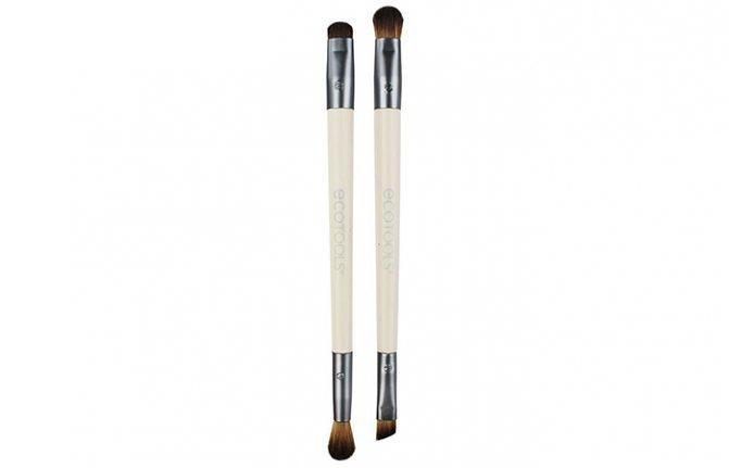 Лучшие Кисти Для Макияжа-EcoTools Eye Enhancing Duo Brush Set