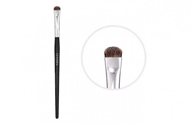 Лучшие Кисти Для Макияжа-Sephora Collection Pro Angled Lip #84 Brush