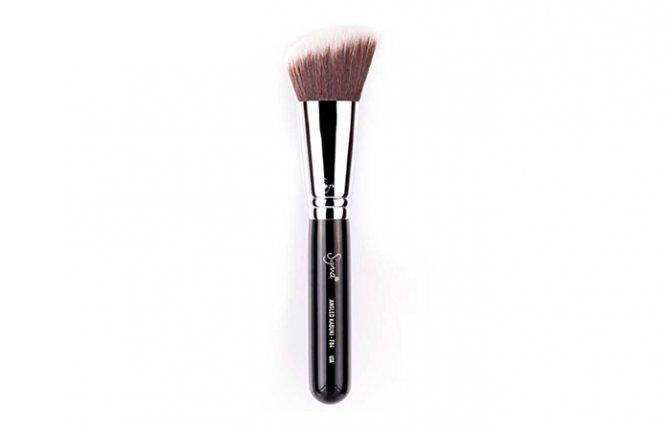 Лучшие Кисти Для Макияжа-Sigma F84 Angled Kabuki Brush