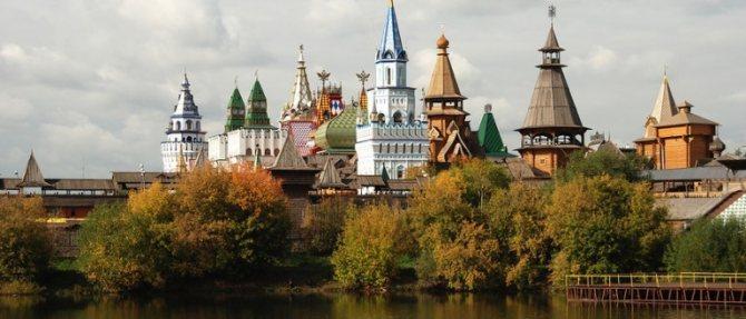 Лучшие места для романтических свиданий в Москве. Измайловский кремль