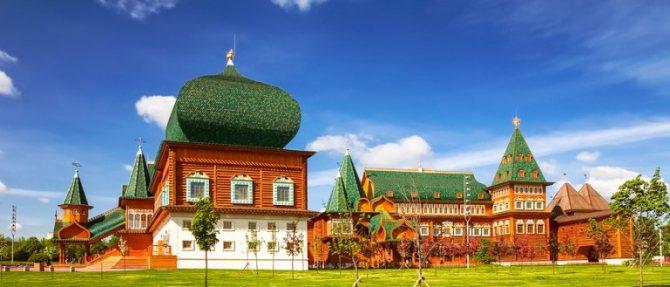 Лучшие места для романтических свиданий в Москве. Заповедник Коломенское