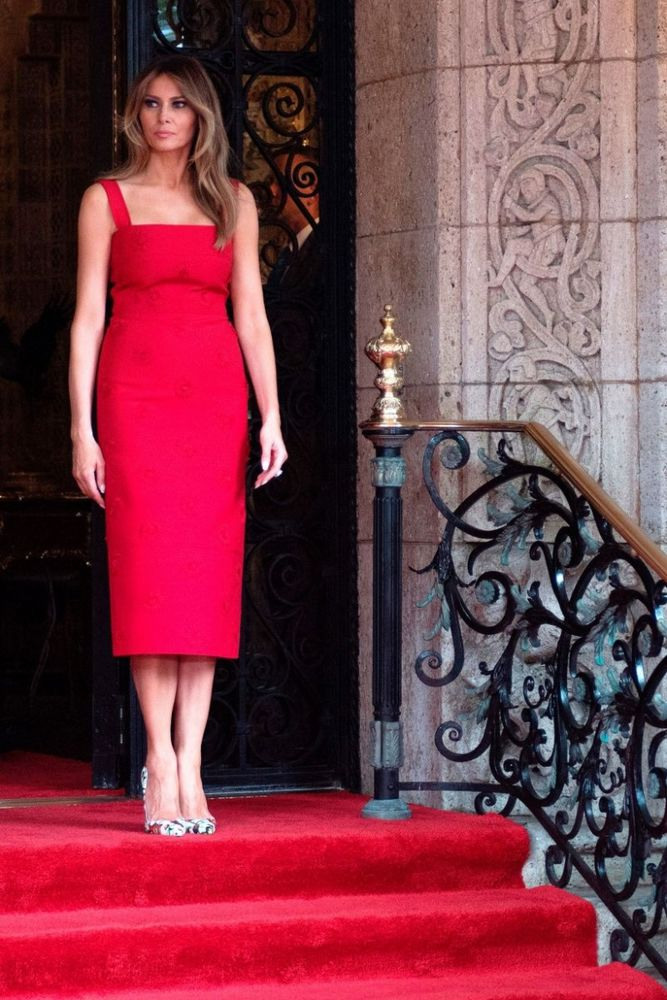 Лучшие образы Мелани Трамп, фото № 1