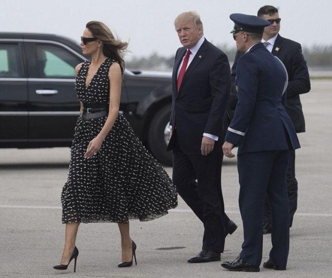 Лучшие образы Мелани Трамп, фото № 2