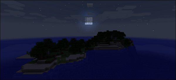 Луна не взойдёт Майнкрафт