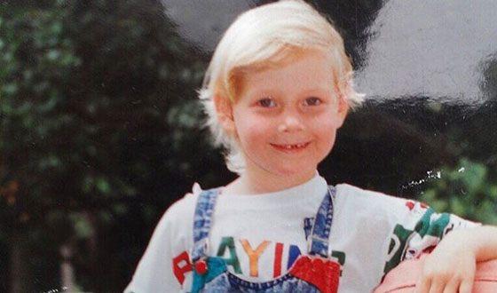 Любава Грешнова в детстве
