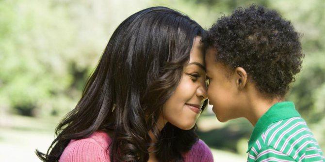 любовь ребенка проявляется
