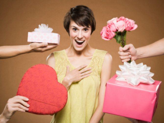 Любовник охотно одарит вас подарками при правильном подходе