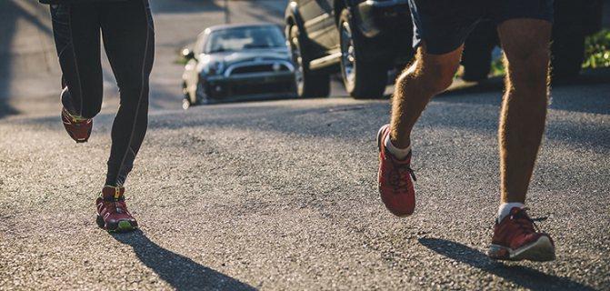 Люди бегут