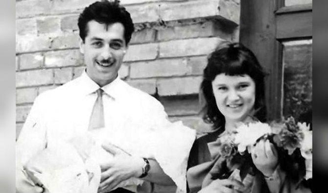 Людмила Гурченко и Борис Андроникашвили в молодости