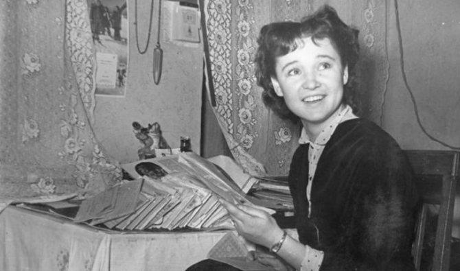 Людмила Гурченко в юности