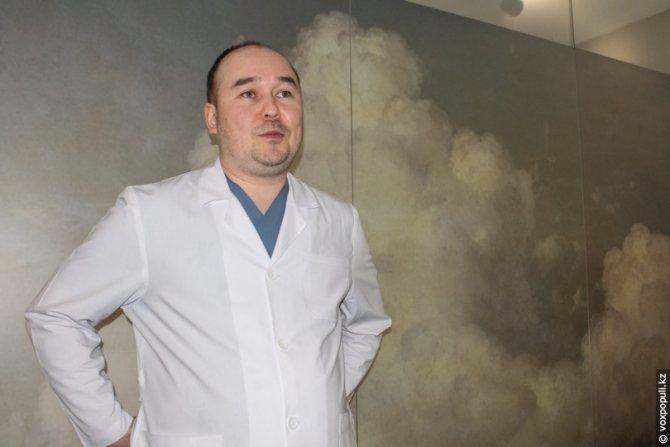 Махмет Тумарбеков, врач-репродуктолог Института репродуктивной медицины