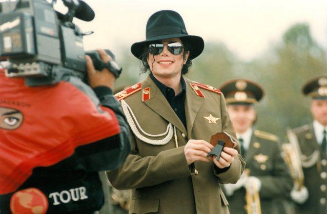 Майкл Джексон в Москве, 1996 год. Фото: nata777.ucoz.ru