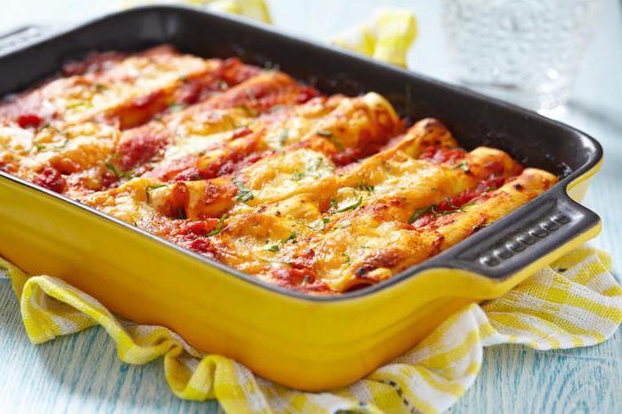 макароны фаршированные фаршем и сыром в духовке