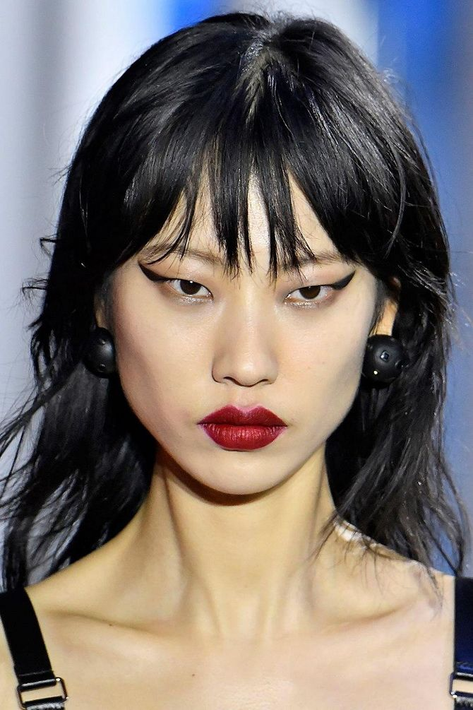 макияж азиатки