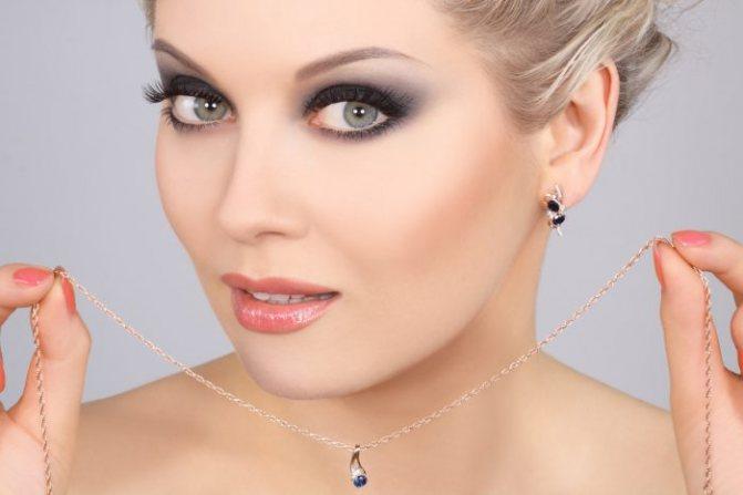 Макияж для голубых глаз и русых волос: пошагово, фото, видео