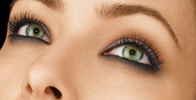 Макияж для каре-зеленых глаз: особенности