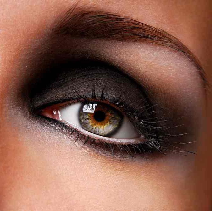 макияж для выпуклых глаз с нависшими веками