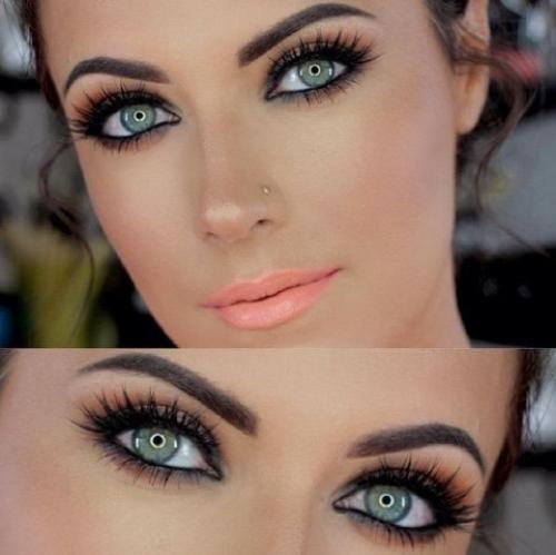 Макияж для зеленых глаз 2020. Советы в макияже, которые помогут выделить зеленый цвет глаз