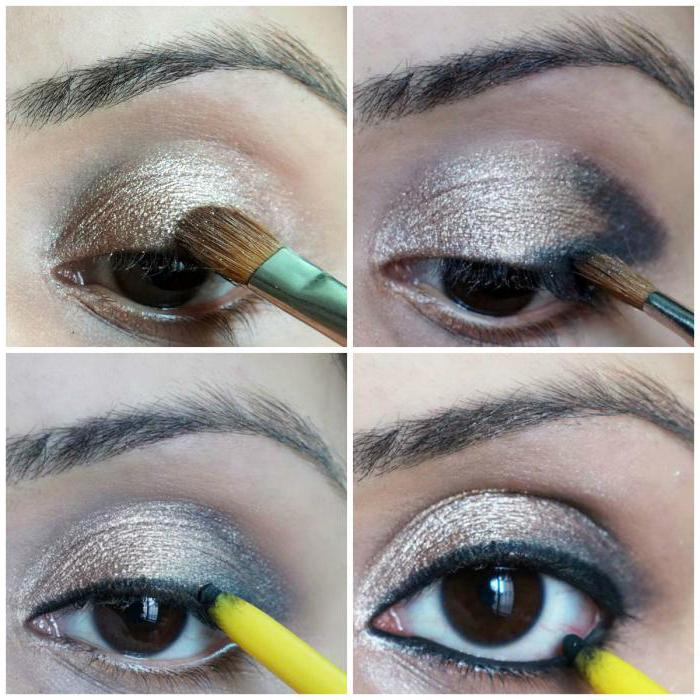 макияж индийских девушек