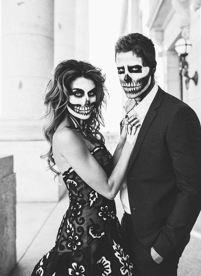 ним образ на хэллоуин для пары фото природы это