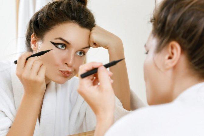 макияж скрывающий мешки
