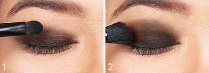 макияж смоки айс поэтапно