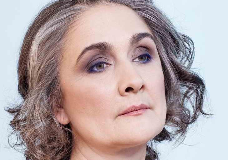 макияж возрастной для опущенных век