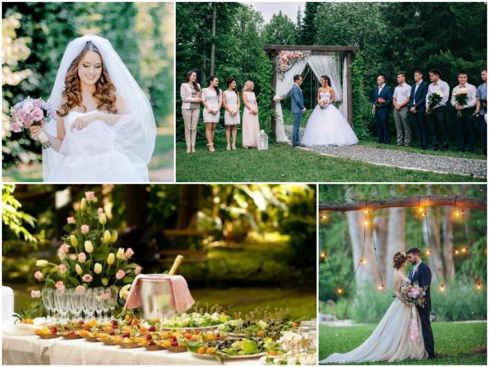 маленькая свадьба весной