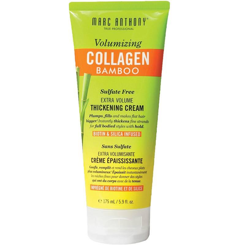 Marc Anthony, крем для укладки Volumizing Collagen Bamboo Extra Volume Thickening Cream