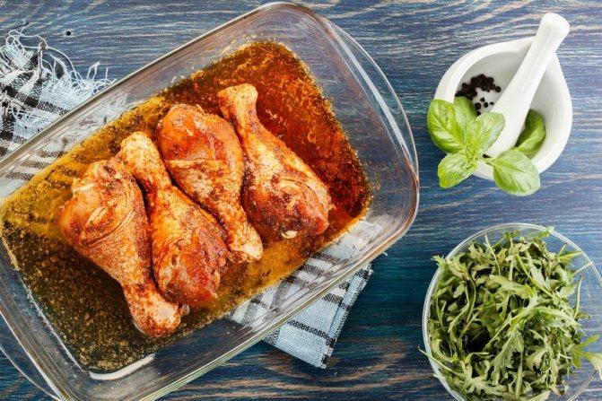 маринад для курицы в духовке