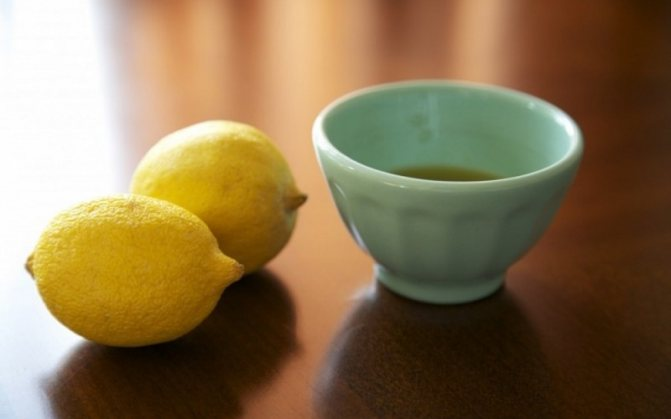 маринад с лимонным соком