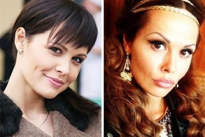 'Мария Горбань до и после