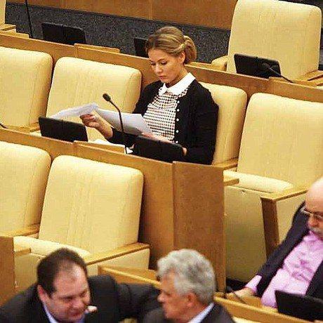 Мария Кожевникова совмещает съемки в кино с работой в Госдуме
