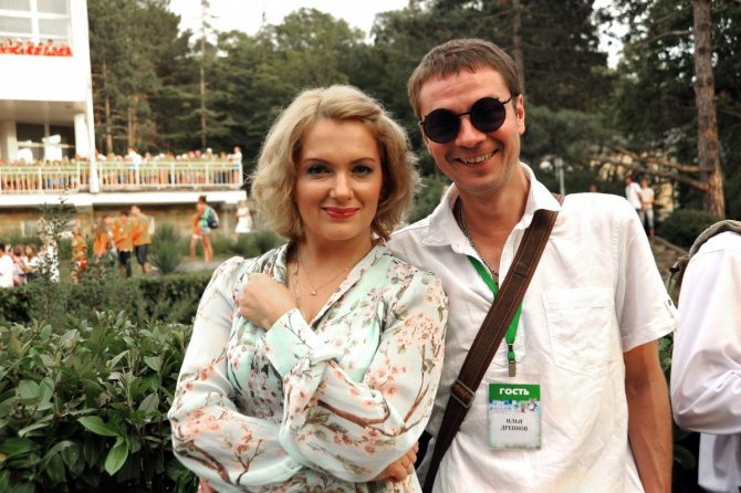 Мария Порошина и Илья Древнов