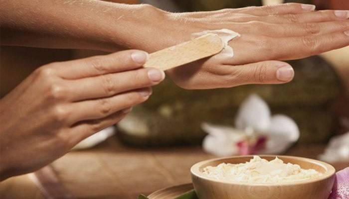 Маска для омоложения кожи рук