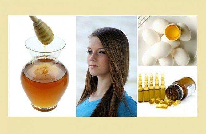 Маска для укрепления волос с добавлением витамина Е