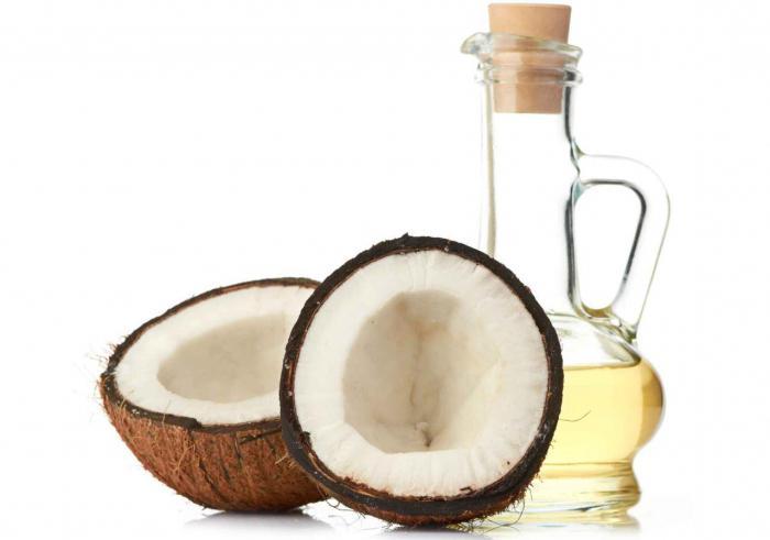 маска для волос с кокосовым маслом на ночь