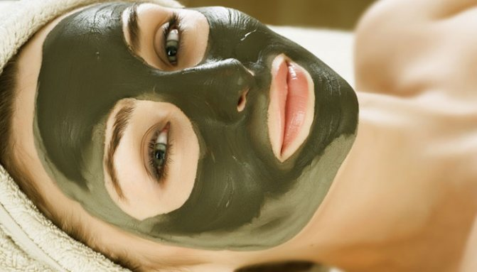 маска из глины и молока - средство от сухости кожи лица