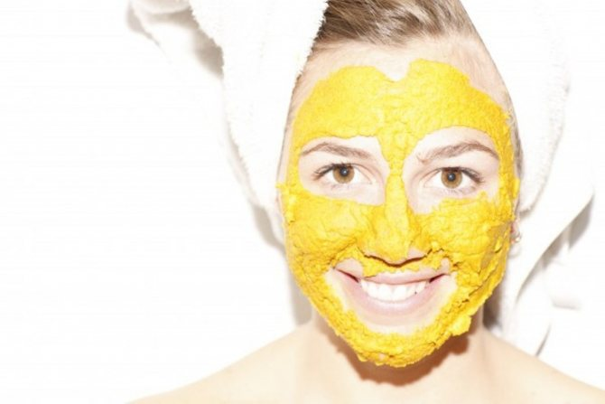 маска из кукурузной муки для лица