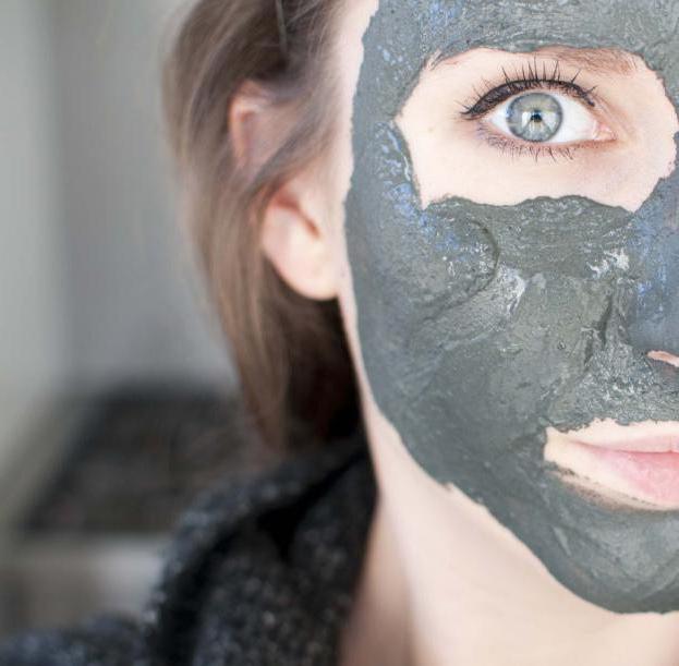 маска от черных точек желатин активированный уголь