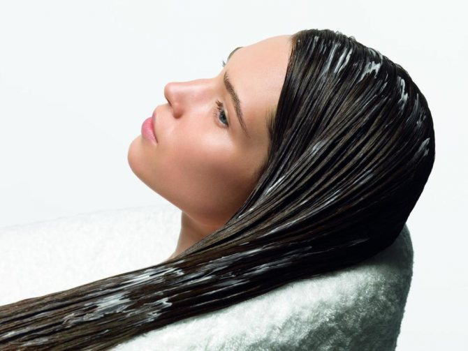 Маска-скраб с содой для волос