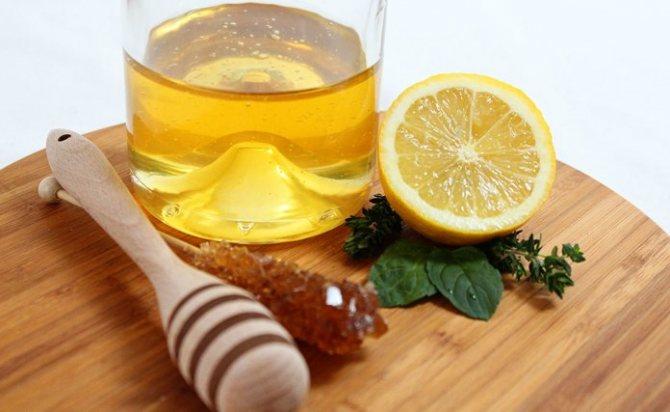 Маски для волос из лимона и мёда