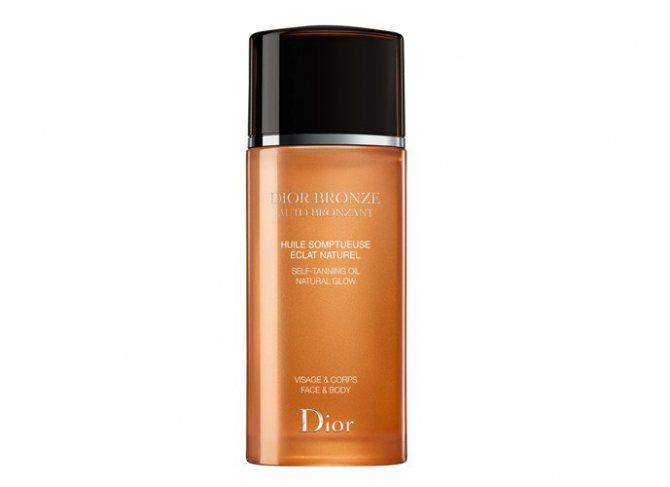Масло для автозагара Huile Somptueuse Eclat Naturel Dior Bronze от Dior