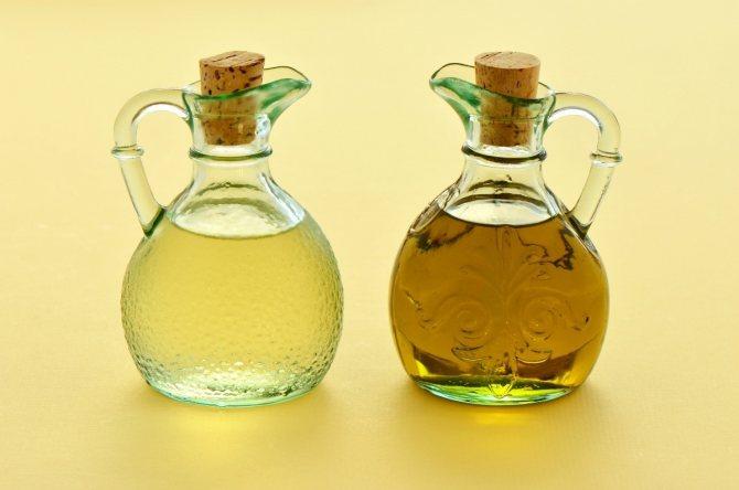 Масло и уксус — основа, чем винегрет