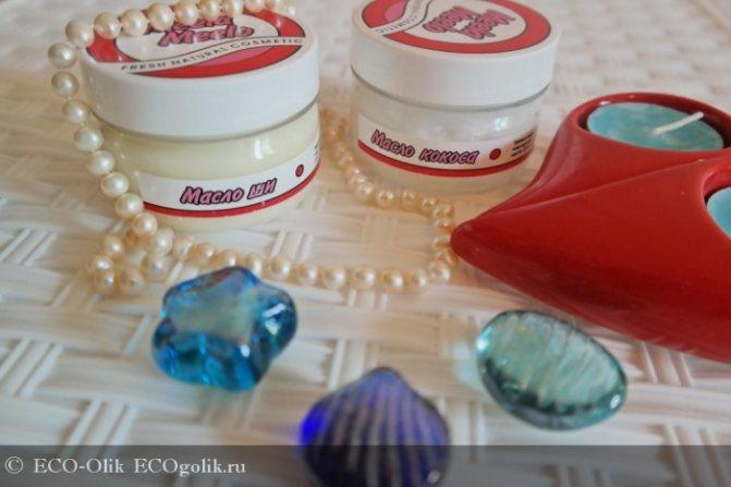 Масло кокоса и масло ши от Meela Meelo (сравнительный отзыв) - отзыв Экоблогера ECO-Olik