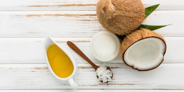 Масло кокоса с медом для лица