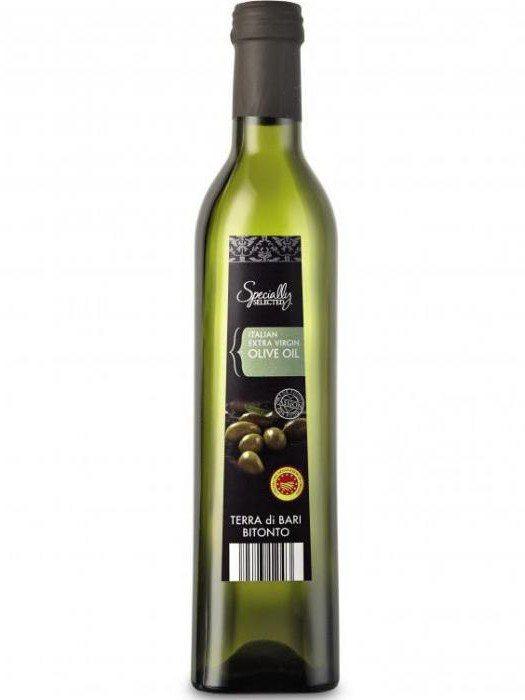 Масло оливковое «extra virgin»