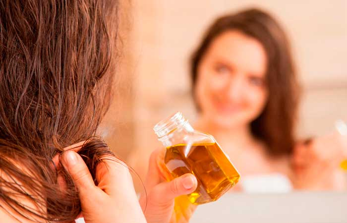 масло против жирных волос