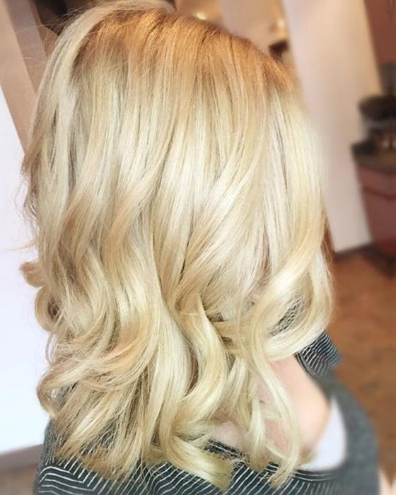 Маслянный блонд