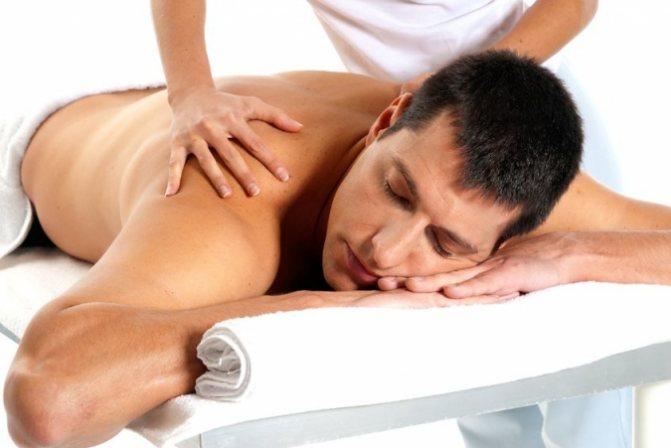 Массаж расслабляющий для мужчин